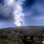 阿蘇山が噴火